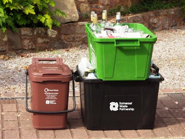 Recycling in Somerset is easy