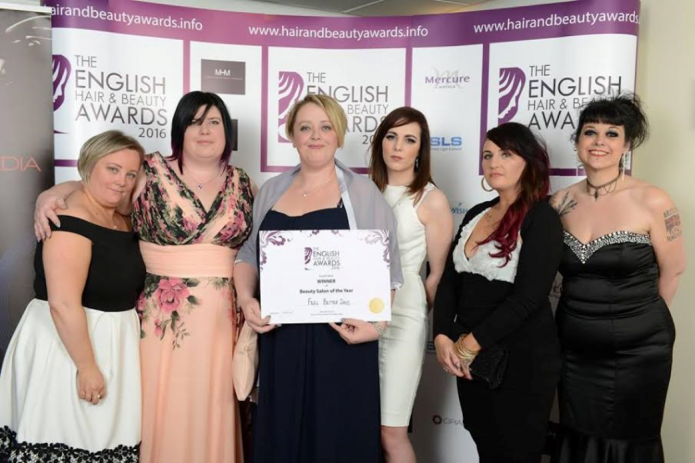 Business bridgwater salon feel better days wins top award for A better day salon